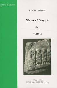 Claude Brixhe - Stèles et langue de Pisidie.