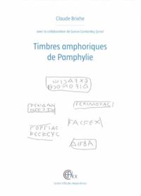 Claude Brixhe - Timbres amphoriques de Pamphylie.