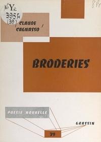 Claude Cagnasso et Jean Poilvet le Guenn - Broderies, 1960-1962.