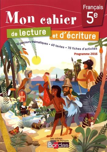 Mon Cahier De Lecture Et D Ecriture Francais 5e Grand Format
