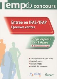Claude Charroin et Nathalie Ferry - Entrée en IFAS / IFAP - Epreuves écrites.