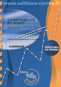 Claude Clémentz - Comptabilité et audit DSCG 4/UE cas pratiques - Programme 2010.