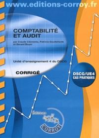 Claude Clementz et Patricia Gouttefarde - Comptabilite et Audit UE4 du DSCG - Corrigé.