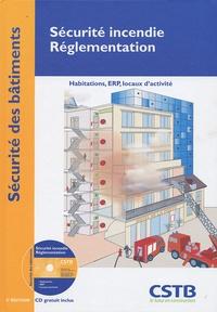 Claude Coco et  Casso et Associés - Sécurite incendie - Réglementation - Habitation, ERP, locaux d'activité. 1 CD audio