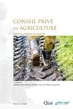 Claude Compagnone et Frédéric Goulet - Conseil privé en agriculture - Acteurs, pratiques et marché.