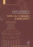 Claude Coquard - Annales historiques de la Révolution française - Tables du centenaire 1908-2007. 1 Cédérom