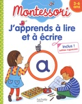 Claude Couque - J'apprends à lire et à écrire - Montessori 3-6 ans. Avec des lettres rugueuses.