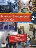 Claude-Danièle Echaudemaison - Sciences Economiques et Sociales 2de - Programme 2010.