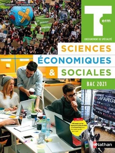 Claude-Danièle Echaudemaison - Sciences Economiques & Sociales Tle.