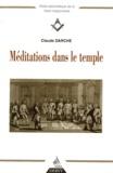 Claude Darche - Méditations dans le temple.