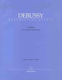Claude Debussy - La mer - Trois esquisses symphoniques - Partition.