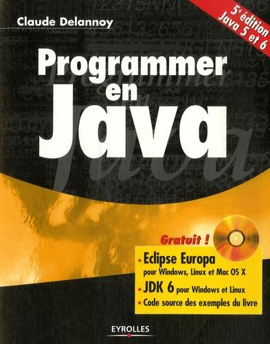 Programmer en Java 5e édition -  avec 1 Cédérom
