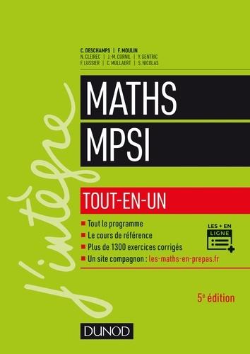 Mathématiques MPSI. Tout-en-un 5e édition