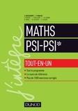 Claude Deschamps et François Moulin - Mathématiques PSI - PSI* - Tout-en-un.