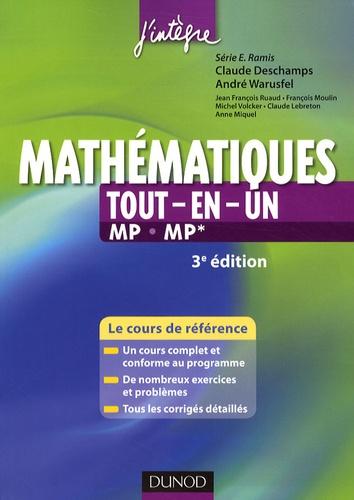 Claude Deschamps et André Warusfel - Mathématiques tout-en-un 2e année MP.