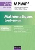 Claude Deschamps et François Moulin - Mathématiques tout-en-un MP-MP* - Conforme au nouveau programme.