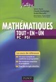Claude Deschamps et André Warusfel - Mathématiques Tout-en-un PC-PSI.