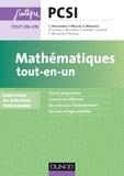 Claude Deschamps et François Moulin - Mathématiques tout-en-un PCSI-PTSI - nouveau programme 2013.