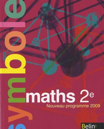 Claude Deschamps - Maths 2e - Manuel petit format, Nouveau programme 2009.