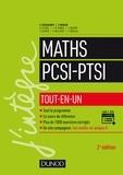 Claude Deschamps et François Moulin - Maths PCSI-PTSI tout-en-un.