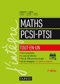 Claude Deschamps et François Moulin - Maths PCSI-PTSI tout-en-un.