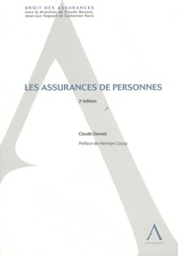 Claude Devoet - Les assurances de personnes.