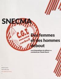 Claude Doucet - Snecma - Des femmes et des hommes debout.