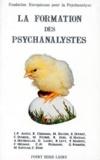Claude Dumézil et Maurice Fourré - La formation des psychanalystes - Actes de la Fondation européenne pour la psychanalyse, Paris, journée du 18 juin 1994.