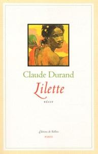 Claude Durand - Lilette.