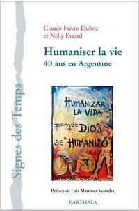 Humaniser la vie - 40 ans en Argentine.pdf