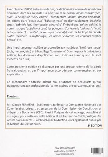 Dictionnaire des termes de l'art anglais-français et français-anglais 3e édition