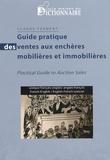 Claude Ferment - Guide pratique des ventes aux enchères mobilières et immobilières - Lexique français-anglais/anglais-français.
