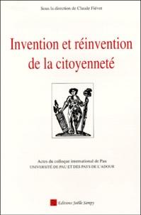 Invention et réinvention de la citoyenneté. Actes du colloque international de Pau, 9-11 décembre 1998.pdf