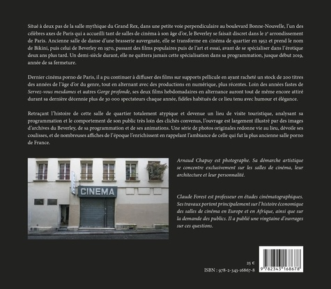 Cinéma Beverley. Le dernier porno de Paris