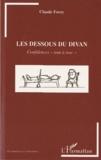 """Claude Forzy - Les dessous du divan - Confidences """"tout à trac""""."""