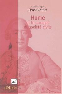 Claude Gautier - David Hume et la question de la société civile.