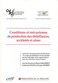 Histoiresdenlire.be Conditions et mécanismes de production des défaillances, accidents et crises Image