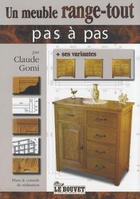Claude Gomi - Un meuble range-tout.