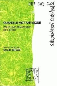 Claude Gruaz et  Collectif - .