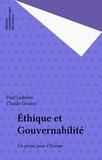 Claude Gruson et Paul Ladrière - Éthique et gouvernabilité - Un projet pour l'Europe.