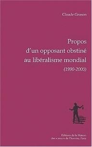 Claude Gruson - .