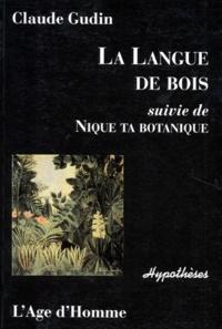 La langue de bois suivie de Nique ta botanique.pdf