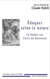 Deedr.fr Eduquer selon la nature - Seize études sur Emile de Rousseau Image