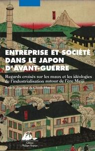 Entreprise et société dans le Japon davant-guerre - Regards croisés sur les mots et les idéologies de lindustrialisation autour de lère Meiji.pdf