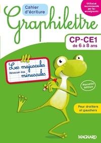 Claude Hebting - Cahier d'écriture Graphilettre CP-CE1 de 6 à 8 ans - Les majuscules et révision des minuscules.