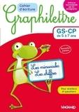 Claude Hebting - Cahier d'écriture Graphilettre GS-CP de 5 à 7 ans - Les minuscules et les chiffres.