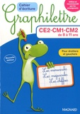 Claude Hebting - Lot Graphilettre CE2 CM1 CM2 - 4 exemplaires + 1 gratuit.