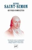 Claude-Henri de Saint-Simon - Oeuvres complètes - 4 volumes.