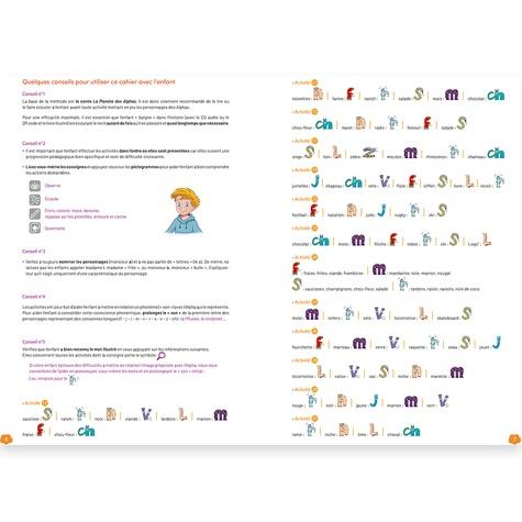 Mon cahier d'activités GS-CP. Plus de 30 activités ludiques et progressives pour se préparer à la lecture