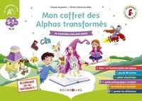 Claude Huguenin et Olivier Dubois du Nilac - Mon coffret des Alphas transformés - Je m'entraîne à lire avec plaisir. Contient : 1 livre, 1 jeu de 86 cartes, 1 cahier d'activités, 1 guide pédagogique, 1 poster, des histoires à écouter.
